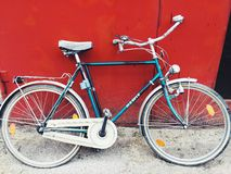 Bicycle. My old bike before his new life Royalty Free Stock Photo