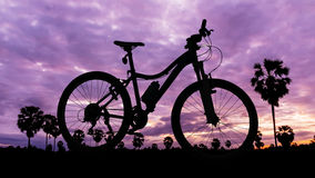 Bicycle in national park Royalty Free Stock Image