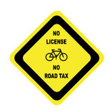 Bicycle (No License No Road Tax) Stock Images