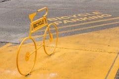Bicycle o estacionamento Imagem de Stock