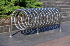 Bicycle o estacionamento Foto de Stock Royalty Free