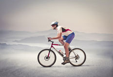 Bicycle o passeio Imagem de Stock