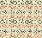 Bicycle o teste padrão Imagens de Stock Royalty Free