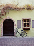 Bicycle on old italian street Stock Photography