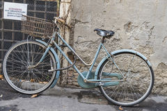 Bicycle On A Street In Rome, Italy Royalty Free Stock Image