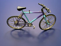 Bicycle for One. Miniature three speed bicycle royalty free stock image