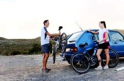 Bicycle panorama Royalty Free Stock Photo