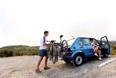 Bicycle panorama Stock Image