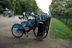 Bicycle in park in london Stock Photography