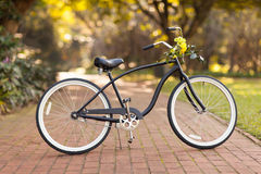 Bicycle at park Royalty Free Stock Photos
