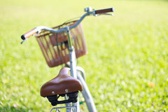 Bicycle in the park Stock Image