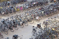Bicycle parking Stock Photo