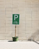 Bicycle parking Stock Image