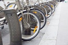 Bicycle Parking Stock Photos