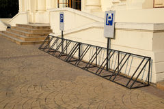Bicycle parking. Royalty Free Stock Images