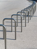 Bicycle parking stands Stock Photography