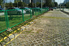 Bicycle parking facilities Royalty Free Stock Image