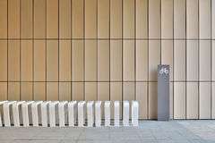 Bicycle parking facility Royalty Free Stock Images