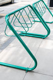 Bicycle parking lots Stock Images