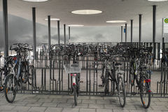 Bicycle Parking Royalty Free Stock Image