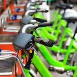 Bicycle parking Stock Image