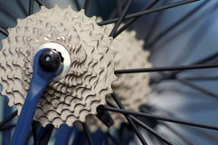 Bicycle parts Royalty Free Stock Photo