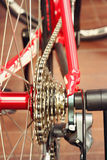 Of bicycle parts Stock Photos