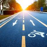 Bicycle path Stock Photos