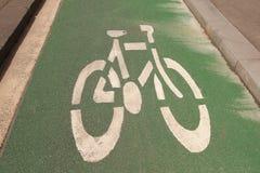 Bicycle path in Melbourne,  Australia Stock Photos