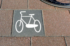 Bicycle path no.7 Stock Images