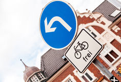 Bicycle path Royalty Free Stock Photography