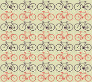 Bicycle Pattern. Vector illustration of bicycle pattern Royalty Free Stock Images
