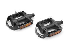 Bicycle pedals Stock Images