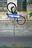 Bicycle pending Stock Image