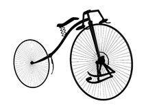 Bicycle - perspective Royalty Free Stock Photography