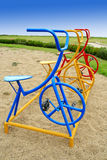 Bicycle Play ground Stock Images