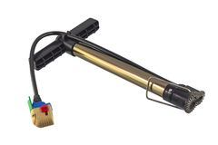 Bicycle pump Royalty Free Stock Images