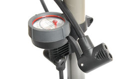 Bicycle Pump Gauge Royalty Free Stock Photography