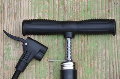 Bicycle Pump Stock Image