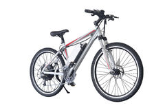Bicycle. With pure white background Royalty Free Stock Photo