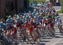 Bicycle race Stock Photography