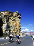 Bicycle race. Held in Taiwan's northern coast bicycle race Stock Photography