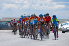 Bicycle race Stock Image