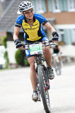 Bicycle Race in the Black-Forest Royalty Free Stock Photography
