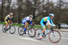 Free Bicycle Race `Five Rings Of Moscow` Royalty Free Stock Photos - 175618268