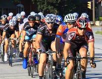 Bicycle race Stock Image