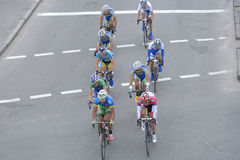 Bicycle Race Horizon Park 2013 in Kiev Royalty Free Stock Photo