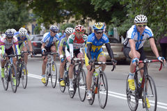 Bicycle Race Horizon Park 2013 in Kiev Royalty Free Stock Photos