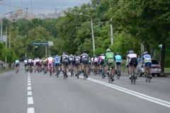 Bicycle Race Horizon Park 2013 in Kiev Stock Images