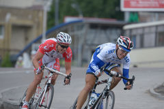 Bicycle Race Horizon Park 2013 in Kiev Stock Image